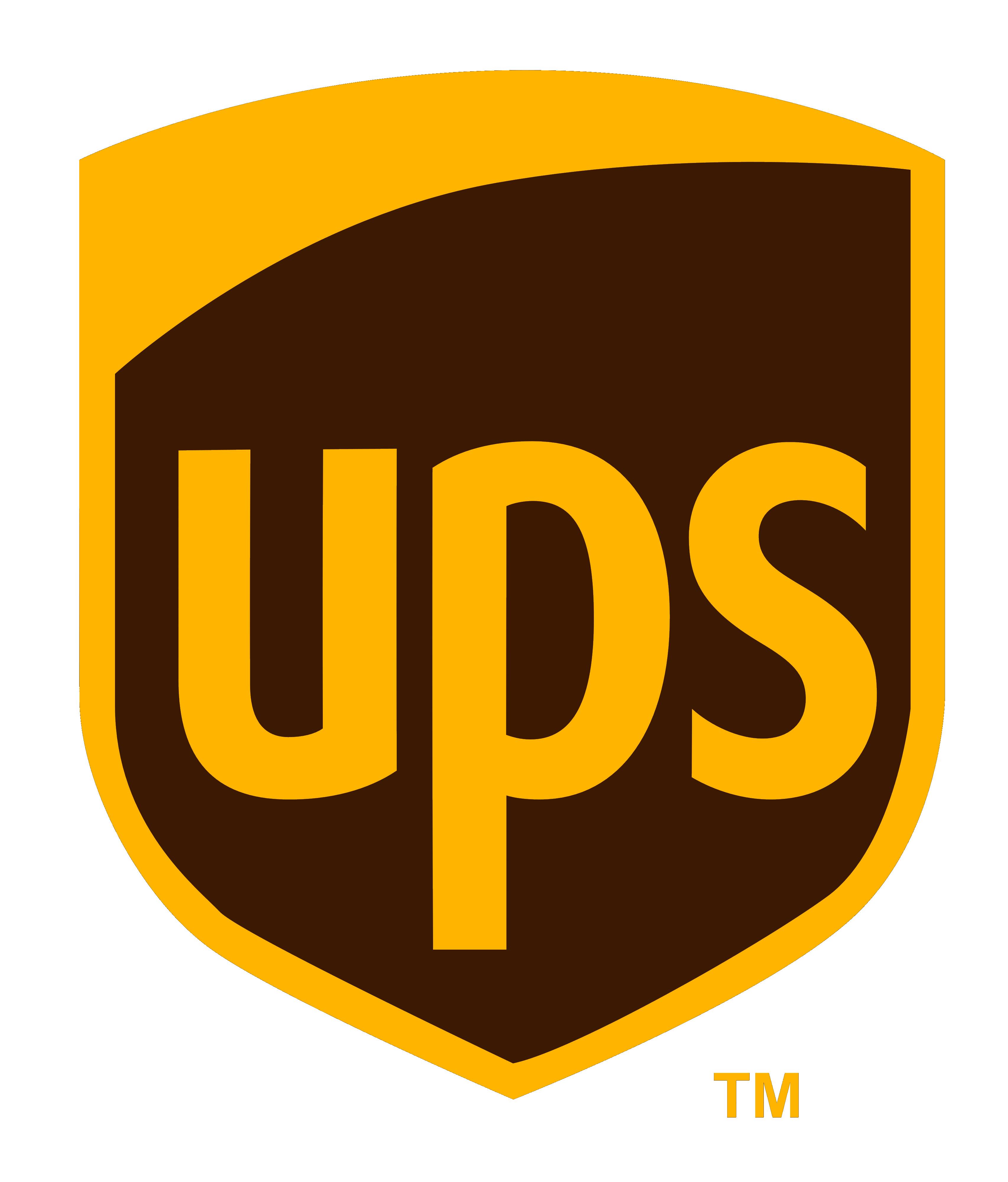 logo ups, kurier ups, przewoźnik ups, przesyłki ups, paczki ups