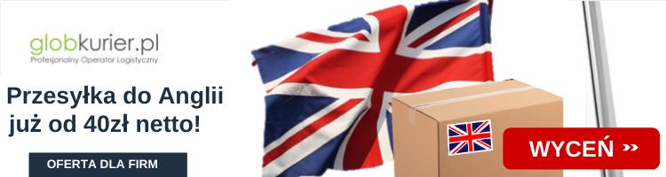 Tanie przesyłka do Anglii