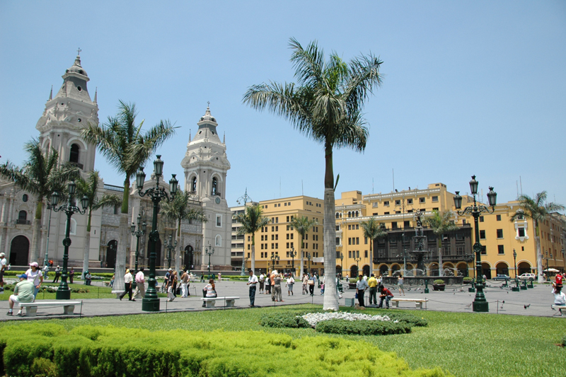 tanie przesyłki kurierskie - lima stolica Peru