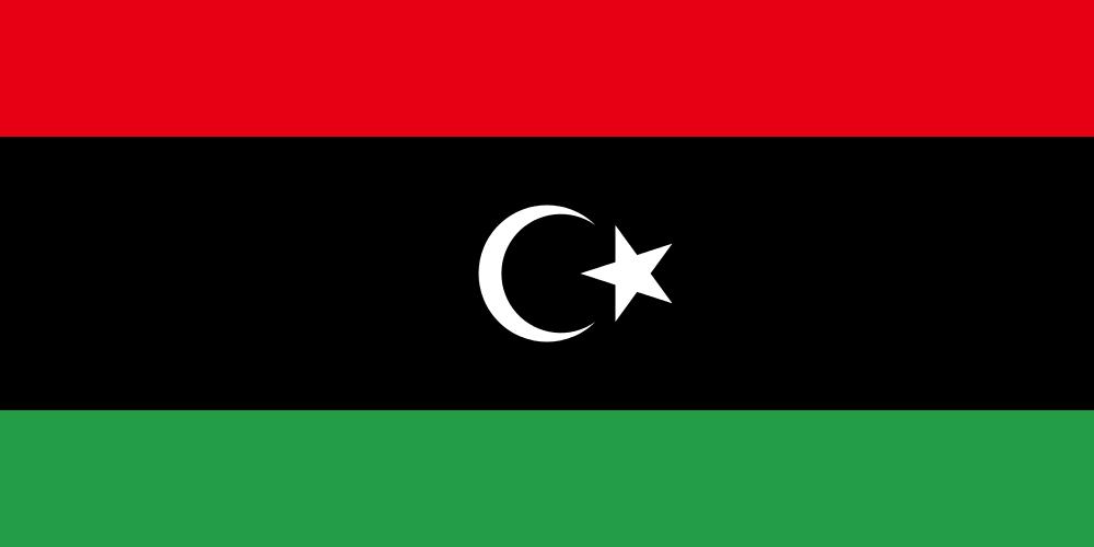 tanie przesyłki kurierskie - flaga libii
