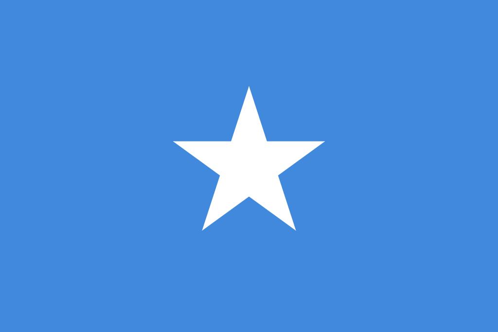 tanie przesyłki kurierskie do Somali - flaga Somali