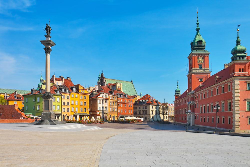 Przesyłki krajowe do Warszawy