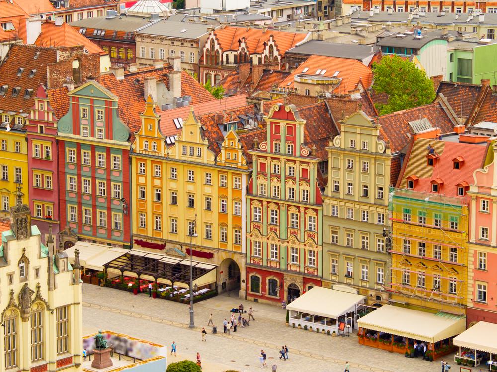 Przesyłki krajowe do Wrocławia