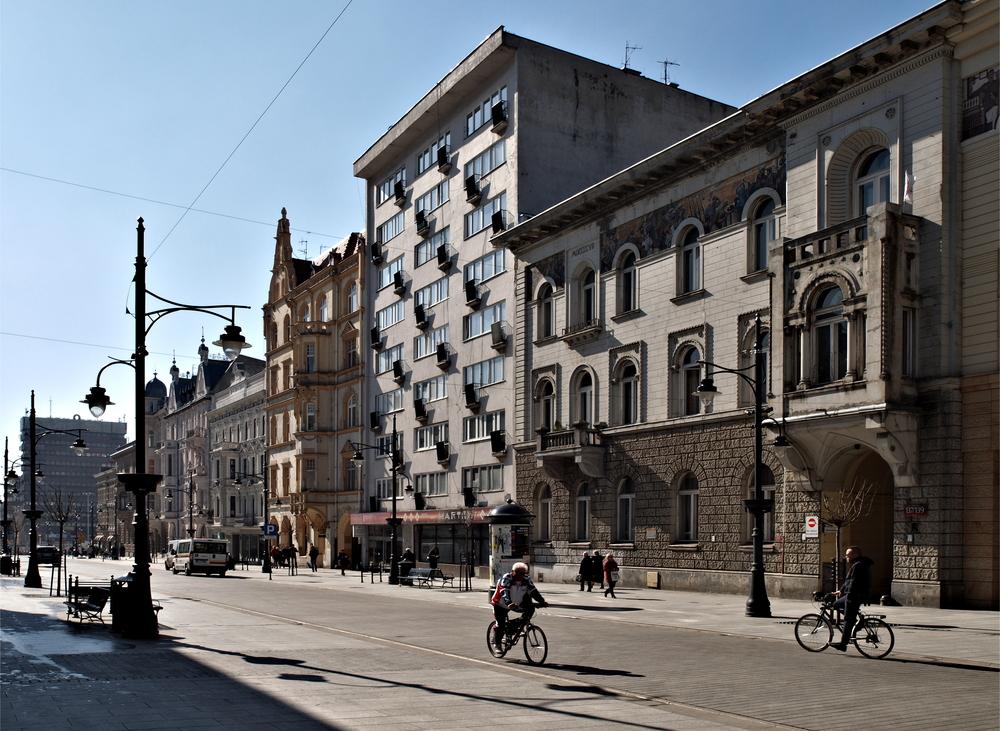 Przesyłki krajowe do Łodzi