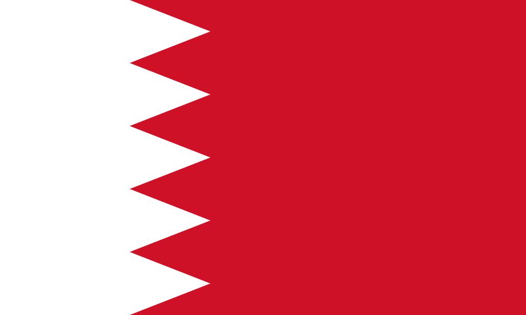 Paczki i przesyłki do Bahrajnu - flaga