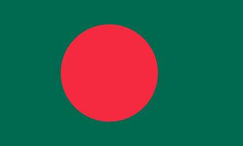 Paczki i przesyłki do Bangladeszu - flaga