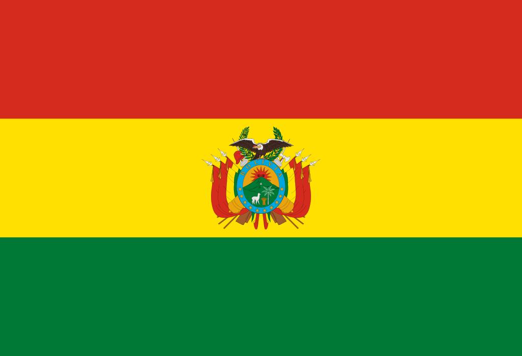 Paczki i przesyłki do Boliwii - flaga