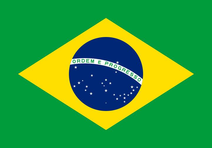 Paczki i przesyłki do Brazylii - flaga