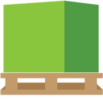 paleta o dowolnych wymiarach z przesyłką paletową