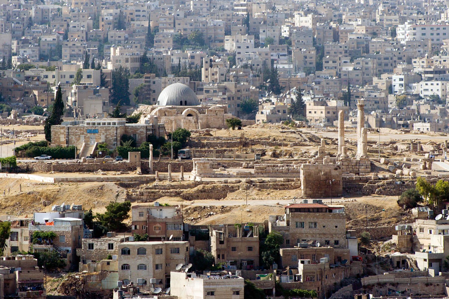 Paczki i przesyłki do Ammana stolicy Jordanii