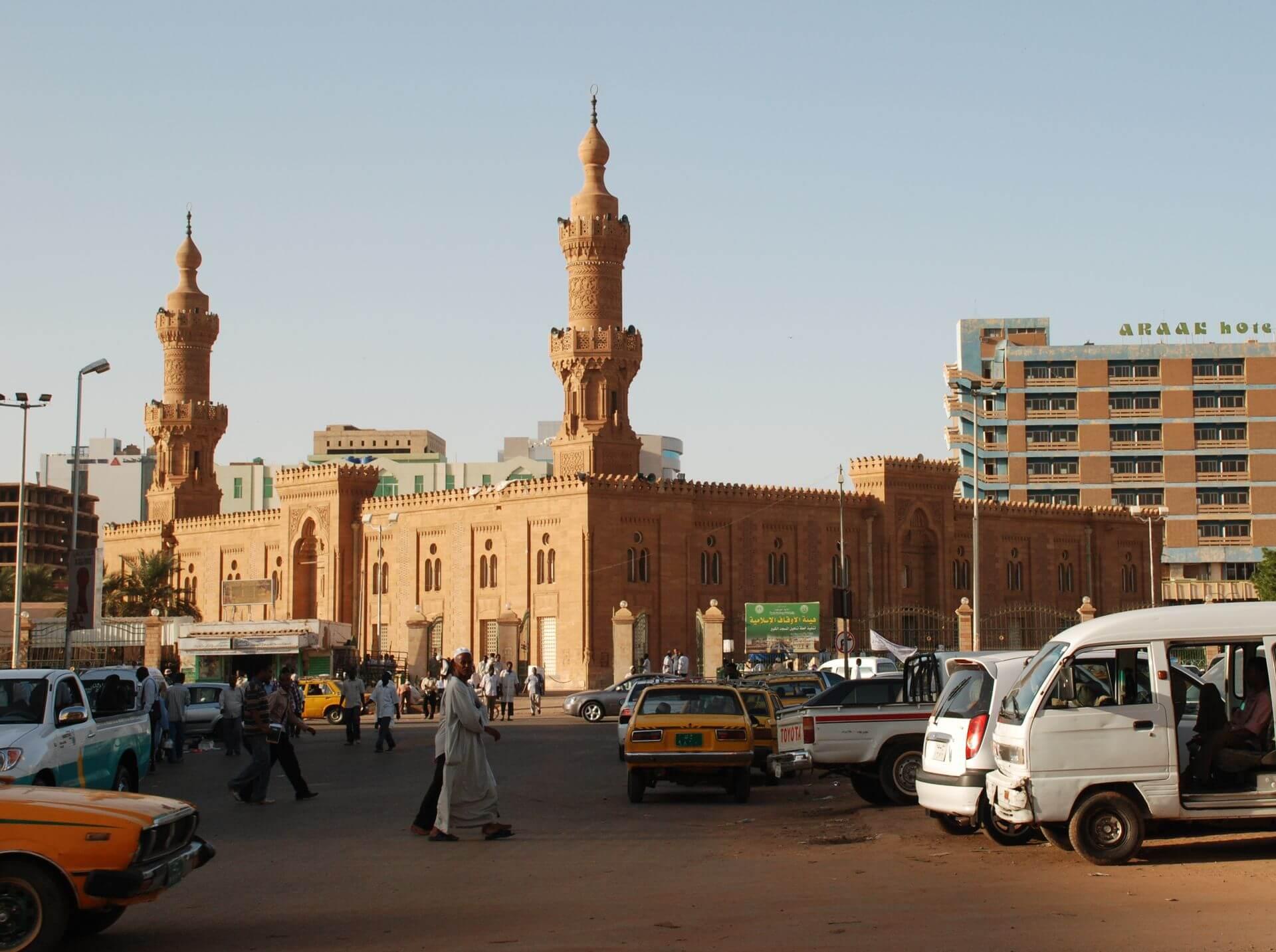 Paczki i przesyłki do Chartum, stolicy Sudanu