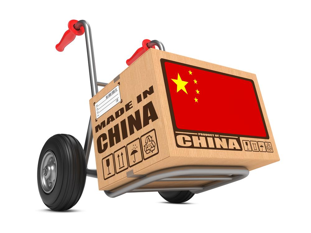 Import z Chin, cło z Chin
