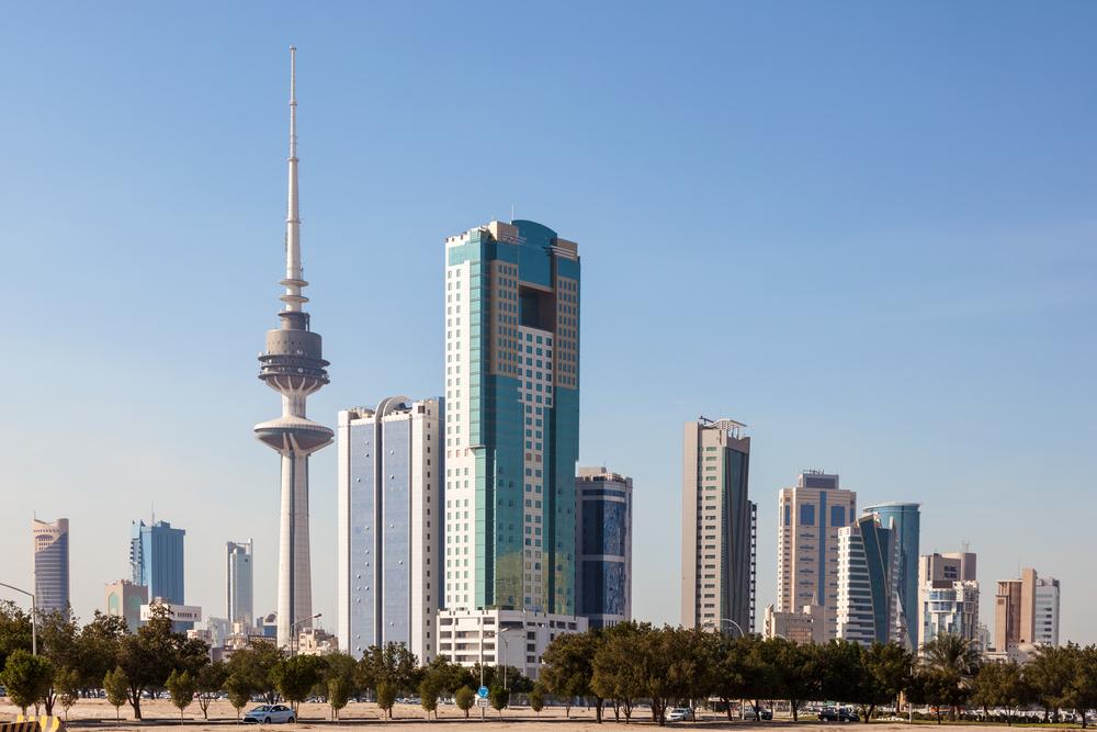 Paczki i przesyłko do stolicy Kuwejtu wieże wyzwolenia Kuwejtu