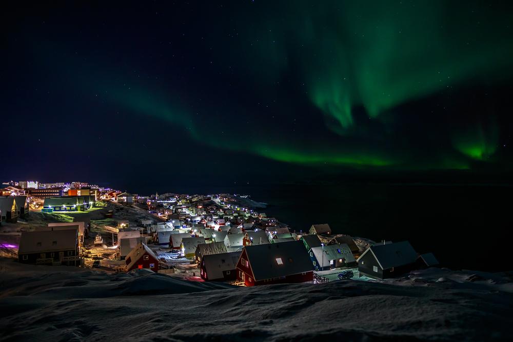 Paczki i przesyłki do Nuuk, stolica Grenlandii