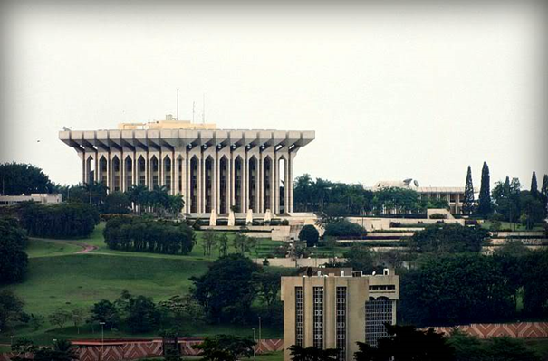 Paczki i przesyłki do Jaunde stolicy Kamerunu