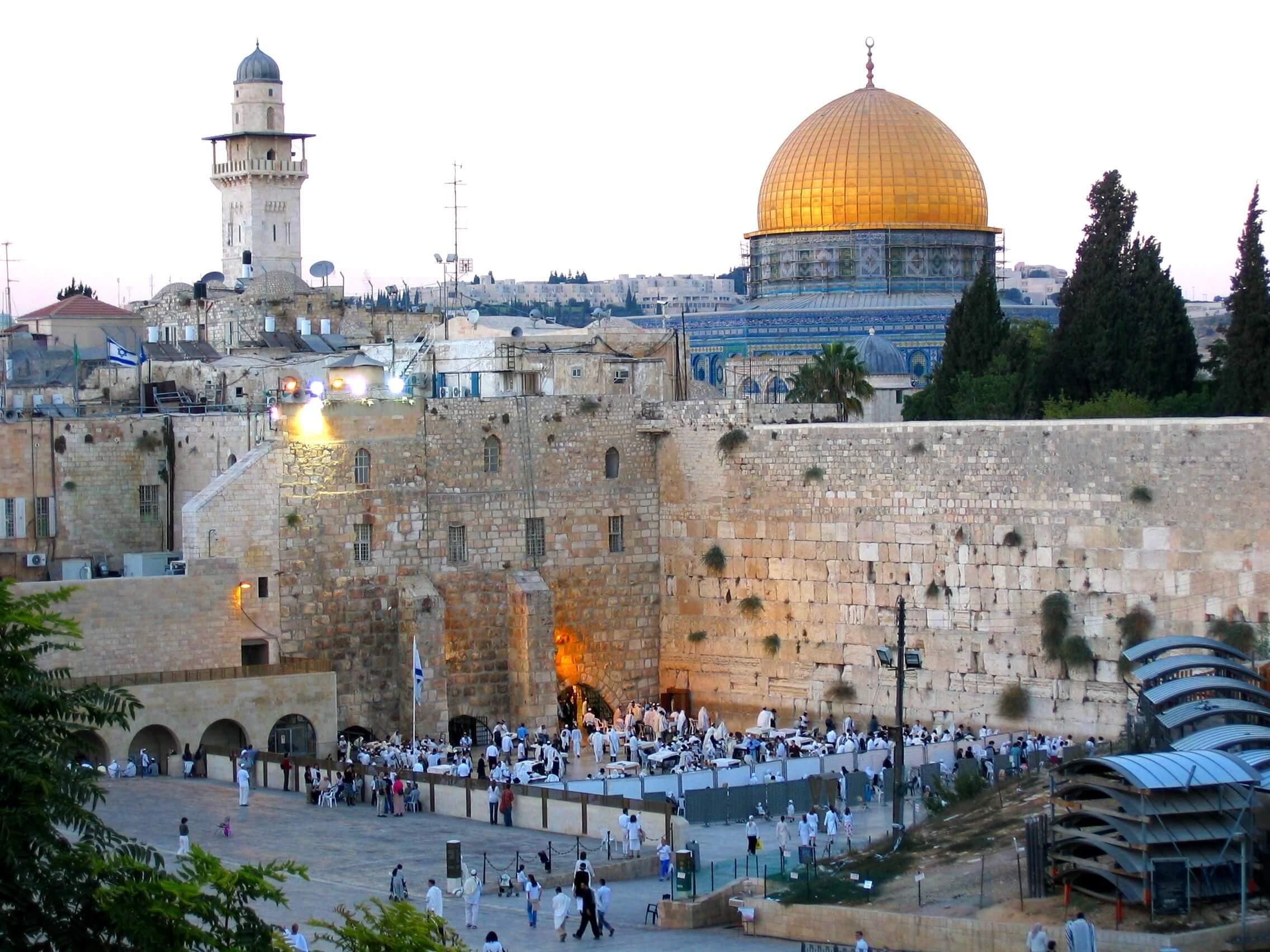 Paczki i przesyłki do Jerozolimy