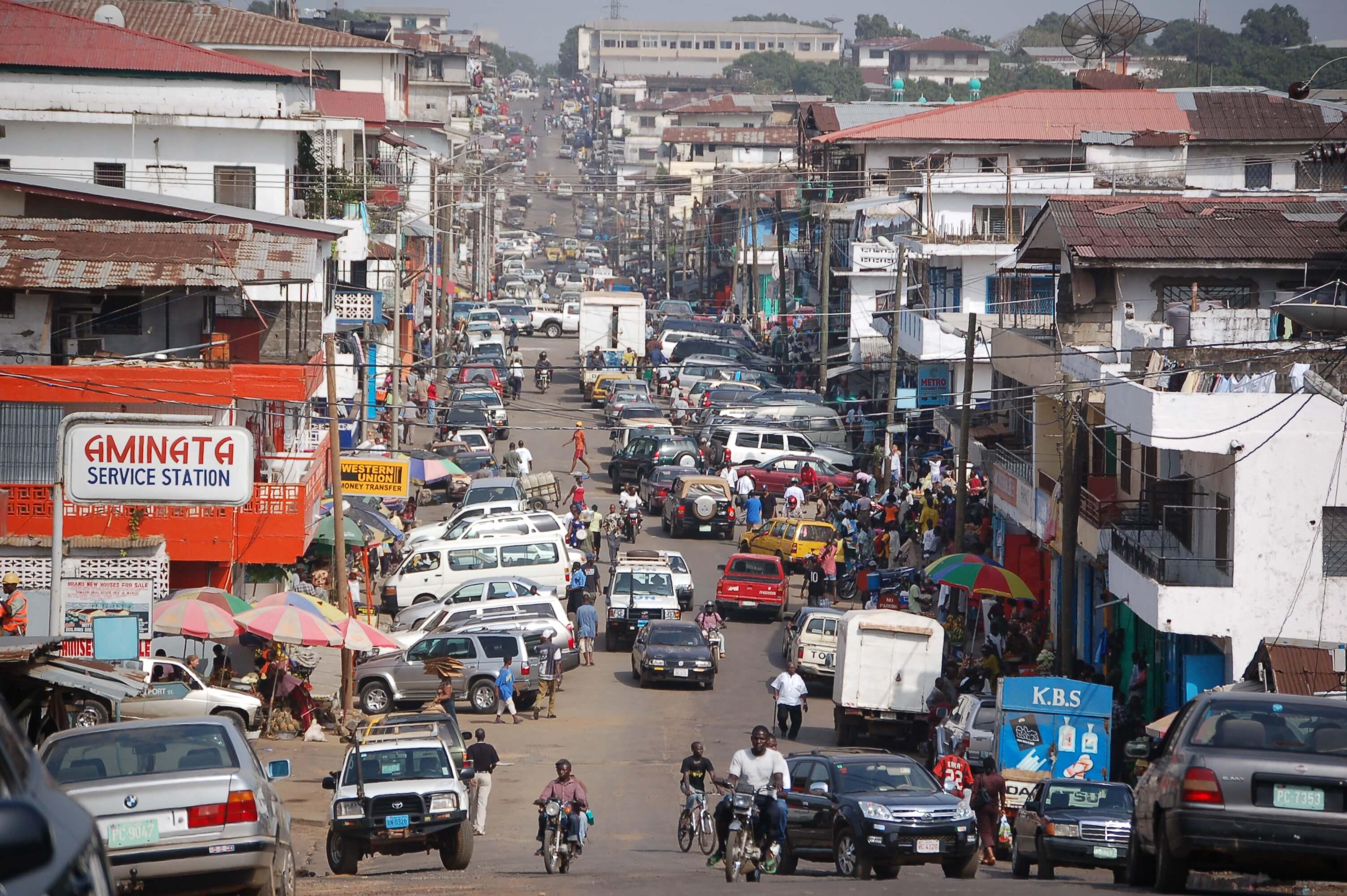 Paczki i przesyłki do Monrovii
