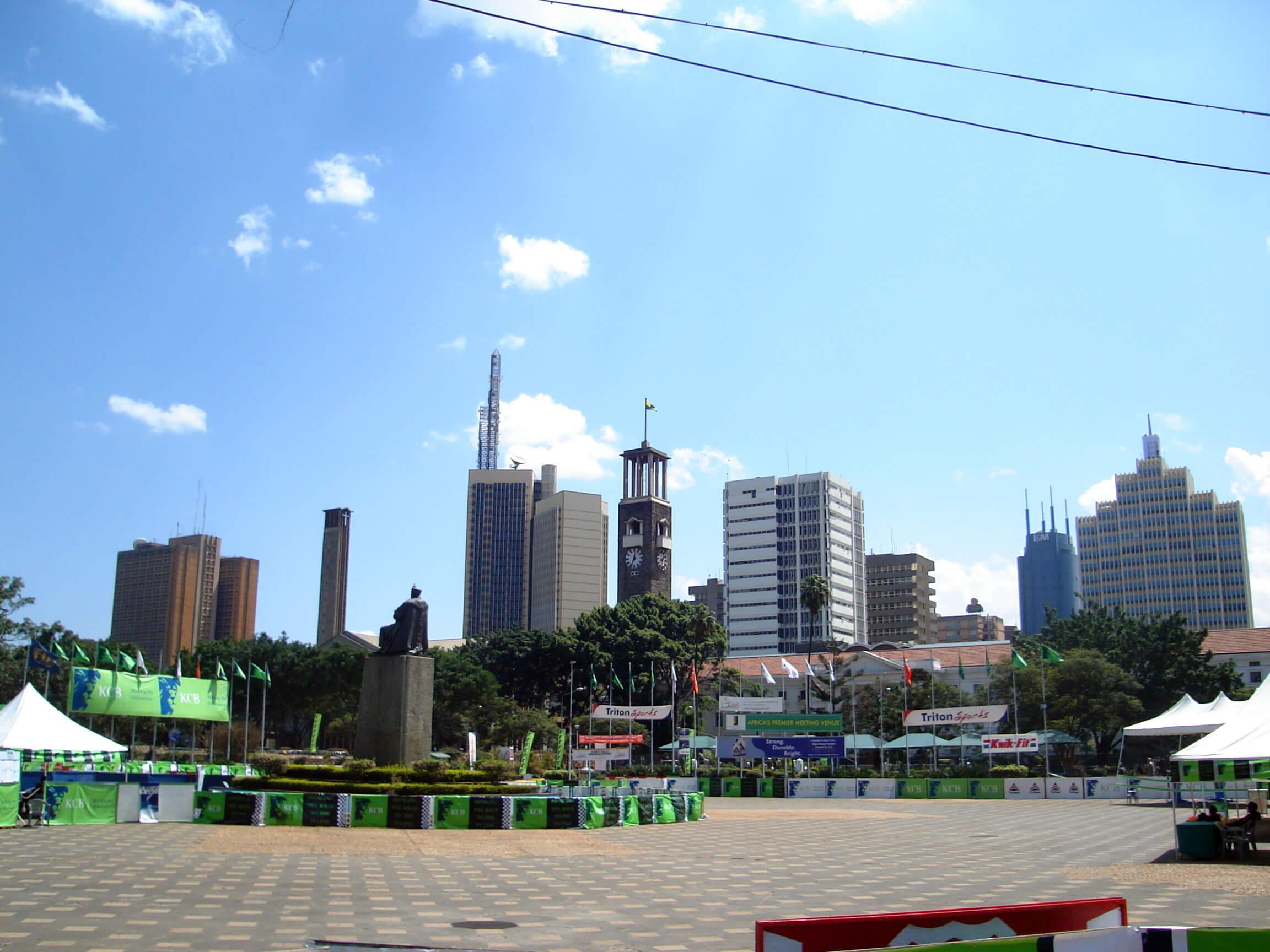 Paczki i przesyłki do Nairobi, paczki do Kenii