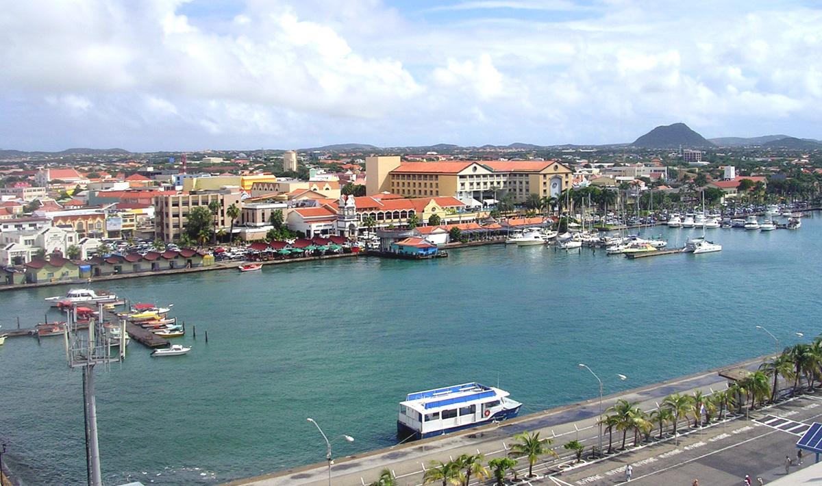 Paczki i przesyłki do Oranjestad
