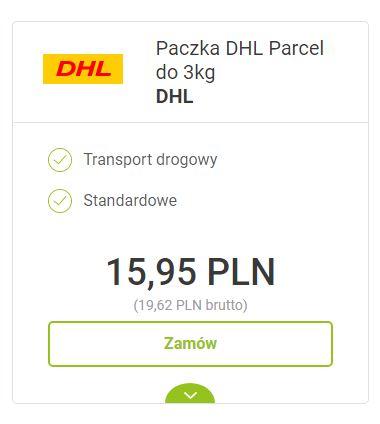 Jak zamówić kuriera DHL?