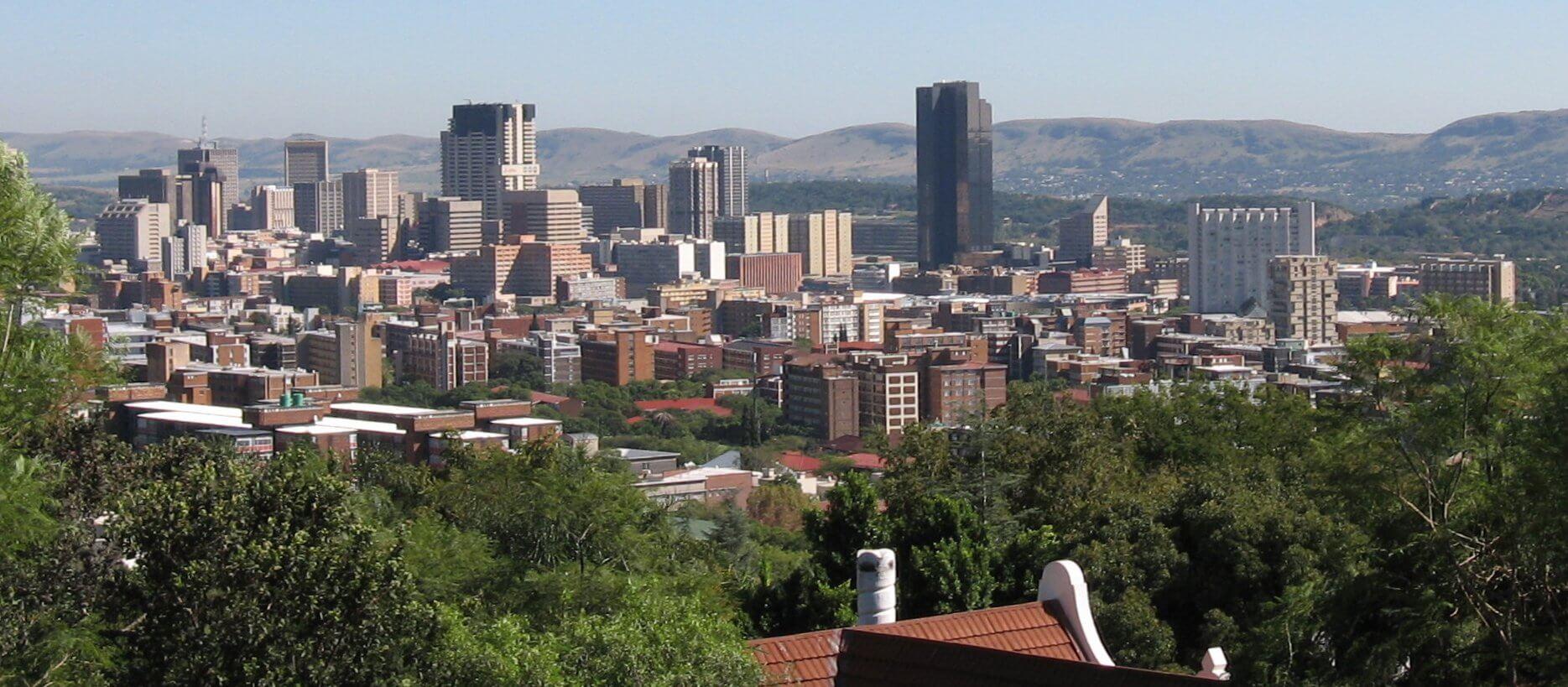 Paczki i przesyłki do Pretoria