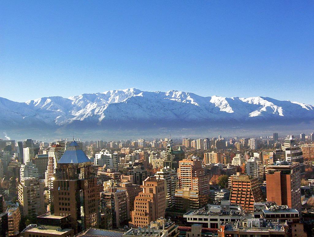 Paczki i przesyłki do Santiago stolicy Chile