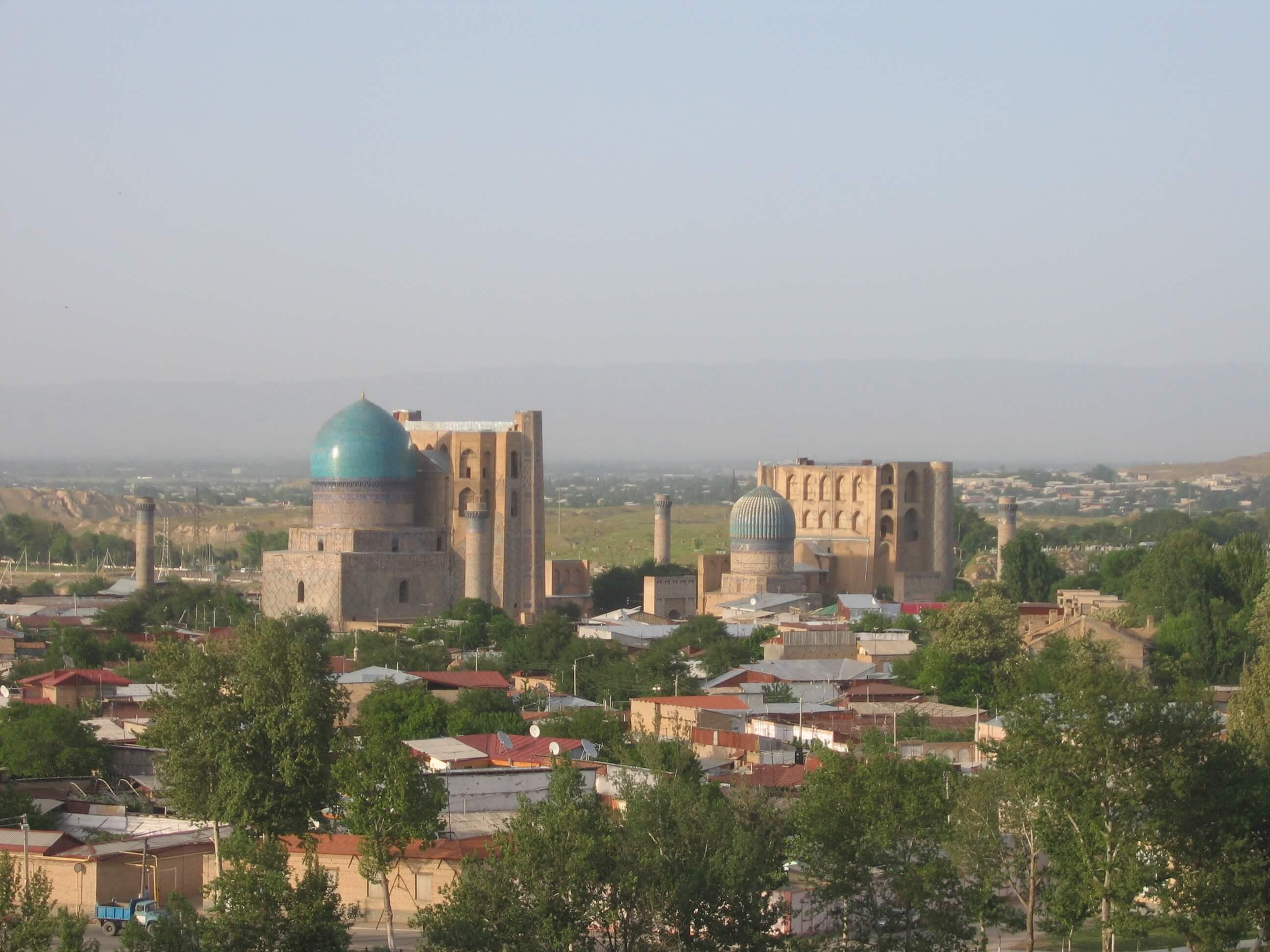 Paczki i przesyłki do Taszkent, stolicy Uzbekistanu