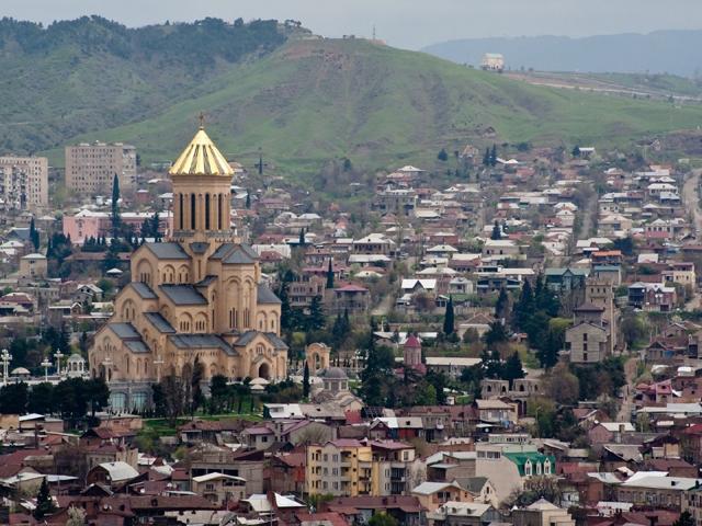 Paczki i przesyłki do Tbilisi stolicy Gruzji