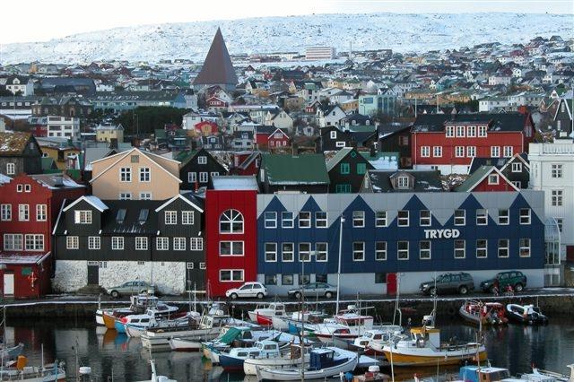 Paczki i przesyłki do Thorshavn