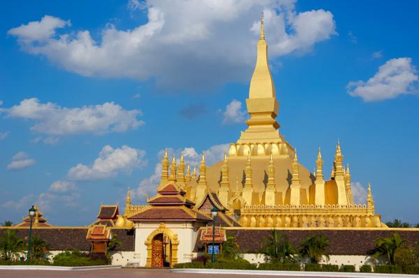 Paczki i przesyłki do Wientian stolicy Laosu