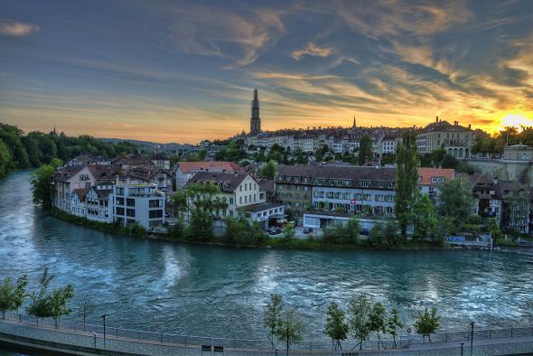 Paczki i przesyłki do Berna, stolicy Szwajcarii