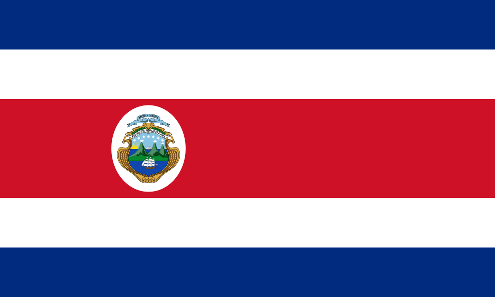 Paczki i przesyłki na Kostarykę