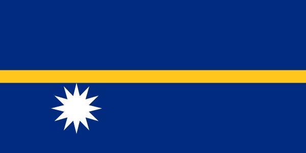 Paczki i przesyłki do Nauru, flaga kraju