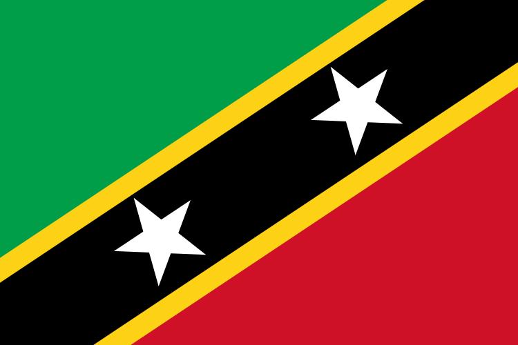 Paczki i przesyłki do Saint Kitts i Nevis