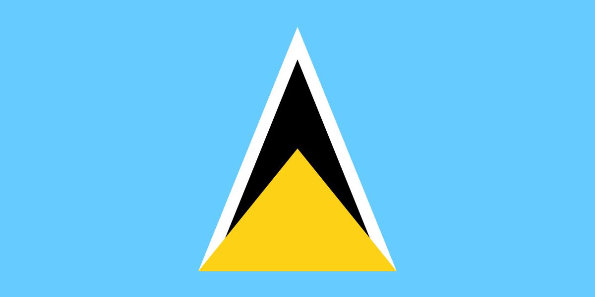 Paczki i przesyłki do Saint Lucia
