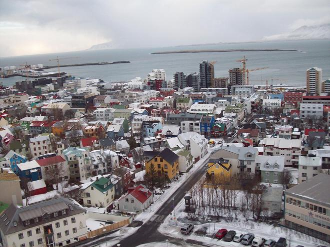 Paczki i przesyłki do Reykjavik