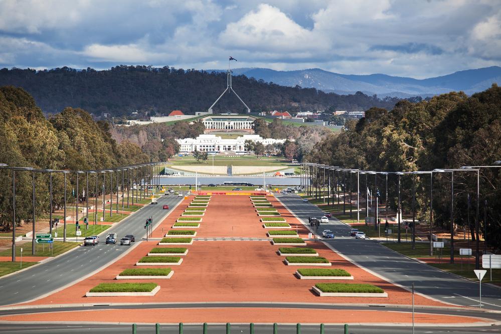 Paczki i przesyłki do Canberra, stolicy Australii