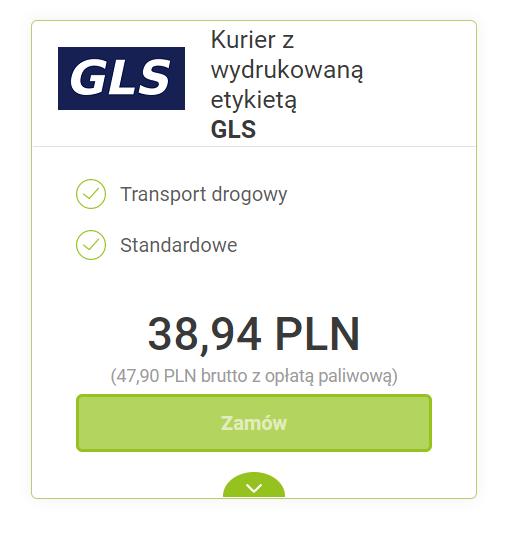 Jak zamówić kuriera GLS? - cena kurier GLS