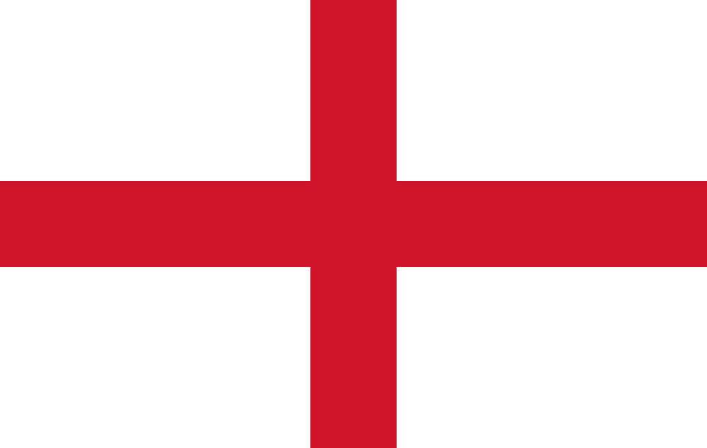 Flaga Anglii, paczki do Anglii