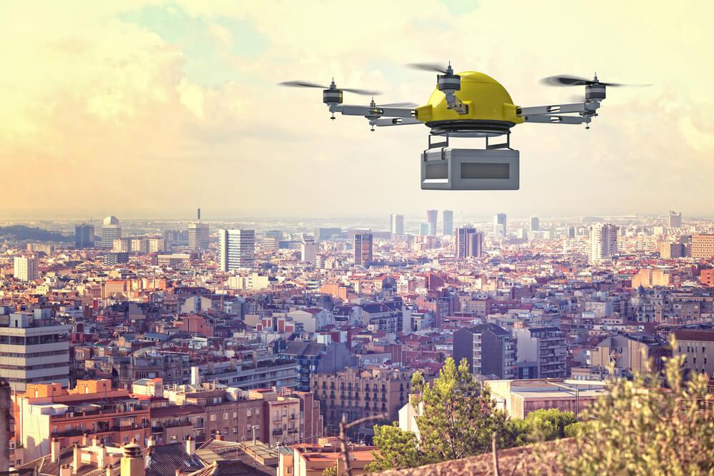 Drony dostawczy w, drony przyszłość dostaw