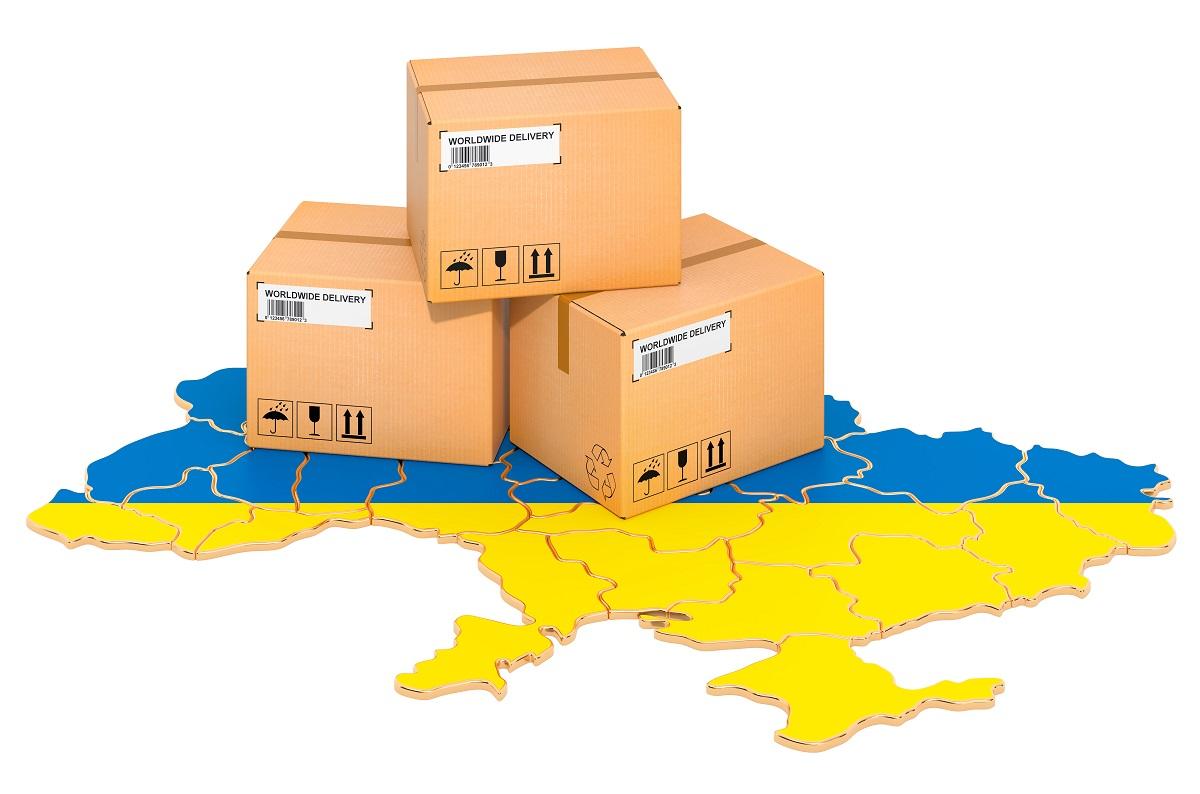 ukraina paczka eksport wymiana handlowa