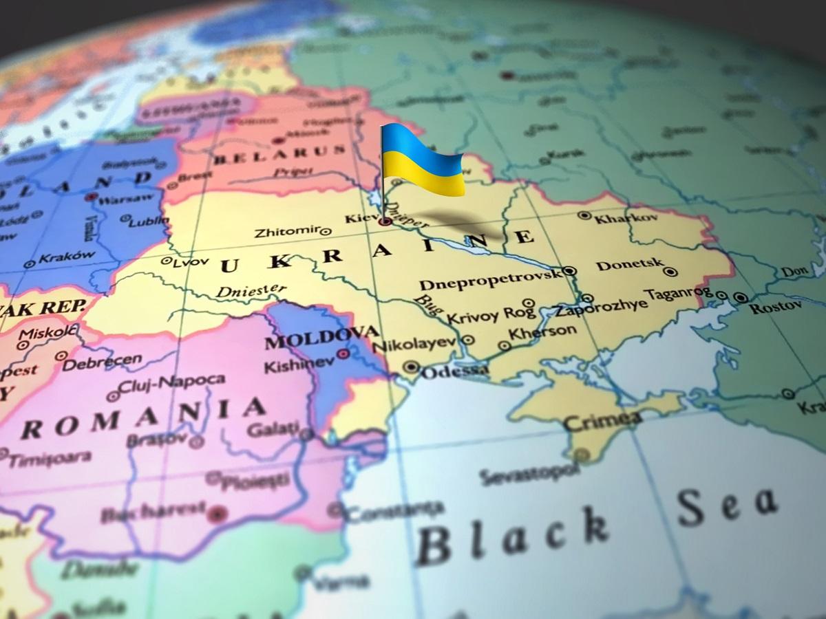 Ukraina mapa import eksport kurier