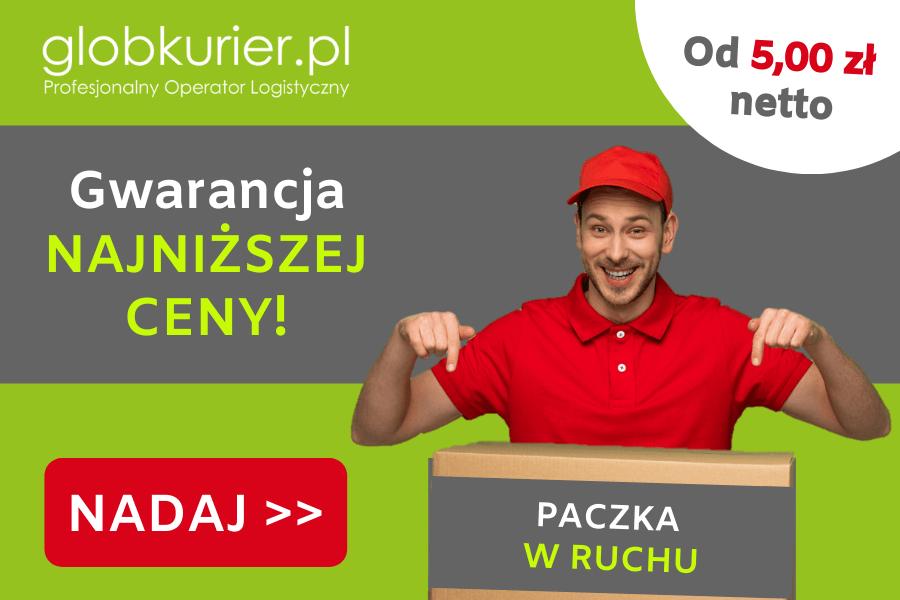 Tanie paczka w RUCHu, paczka w RUCHu w GlobKurier.pl