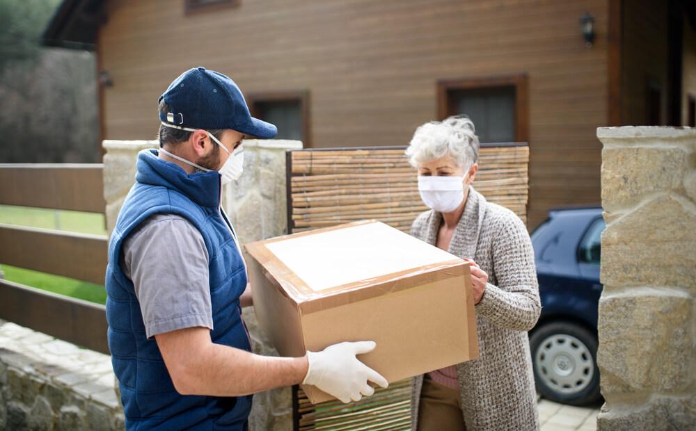 pandemia, dostawy, logistyka, transport, kurierzy