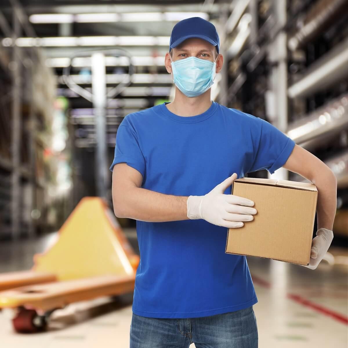 Bezpieczne paczki w czasach pandemii