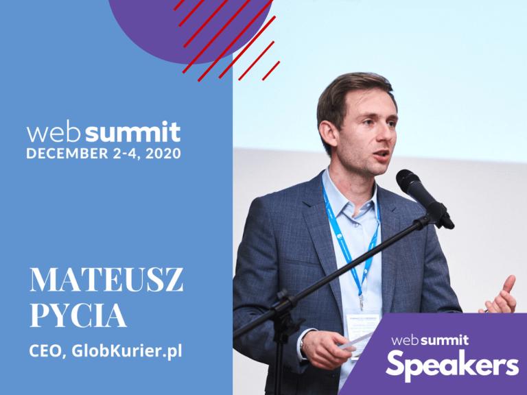 Web Summit - Mateusz Pycia
